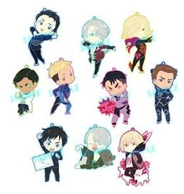 Yuri on Ice! Niitengomu Rubber Charm Toysworks