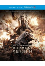 Funimation Entertainment Rurouni Kenshin Part 3: The Legend Ends Blu-Ray/DVD