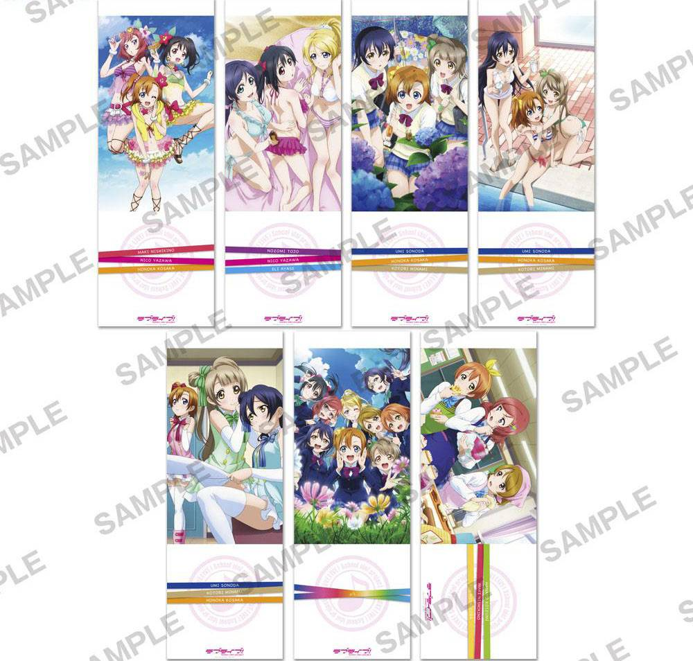 Love Live Vol 3 Chara-Pos Collection Poster Box (2 posters)