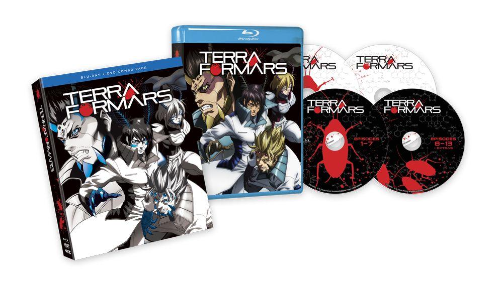 Viz Media Terra Formars Blu-ray/DVD