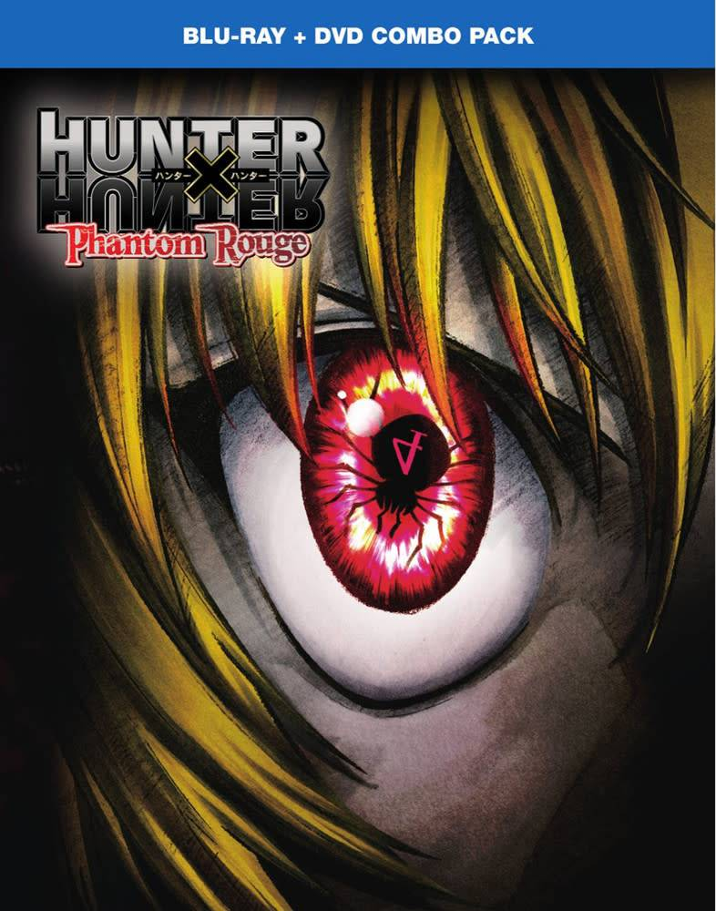 Viz Media Hunter x Hunter Phantom Rouge Blu-Ray/DVD