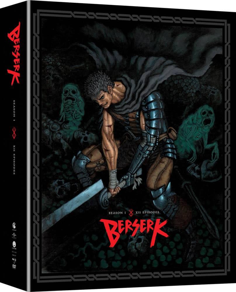 Funimation Entertainment Berserk (2016) Season 1 Blu-Ray/DVD LE