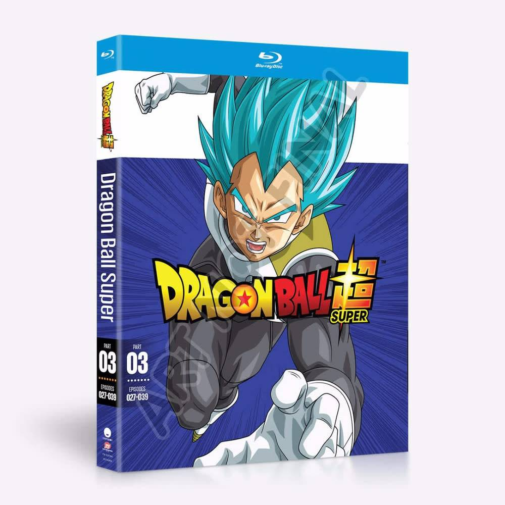 Funimation Entertainment Dragon Ball Super Part 3 Blu-Ray