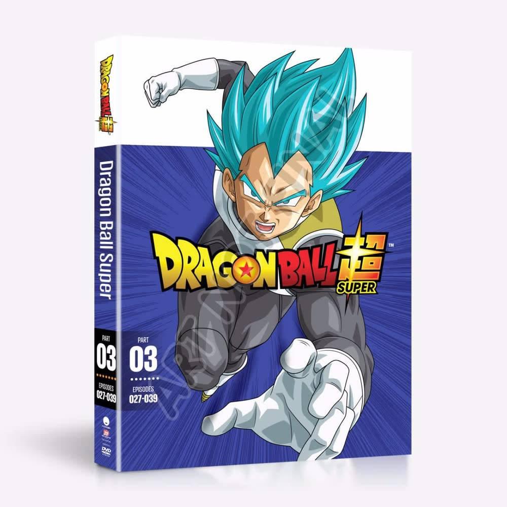 Funimation Entertainment Dragon Ball Super Part 3 DVD