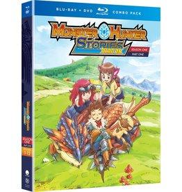 Funimation Entertainment Monster Hunter Stories Ride On Season 1 Part 1 Blu-Ray/DVD