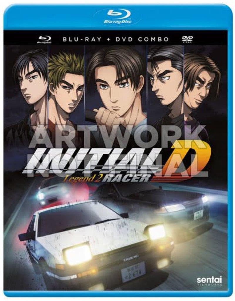 Sentai Filmworks Initial D Legend 2 Racer Blu-Ray/DVD
