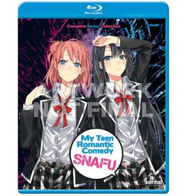 Sentai Filmworks My Teen Romantic Comedy Snafu Complete Collection Blu-Ray