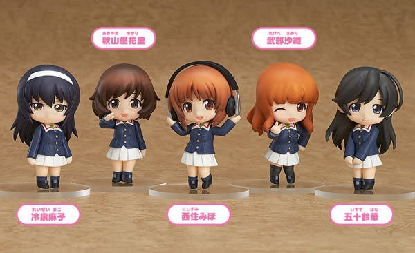 Girls Und Panzer Nendoroid Petite Ankou Team Vers (Boxed)