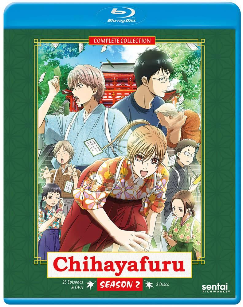 Sentai Filmworks Chihayafuru Season 2 Blu-Ray