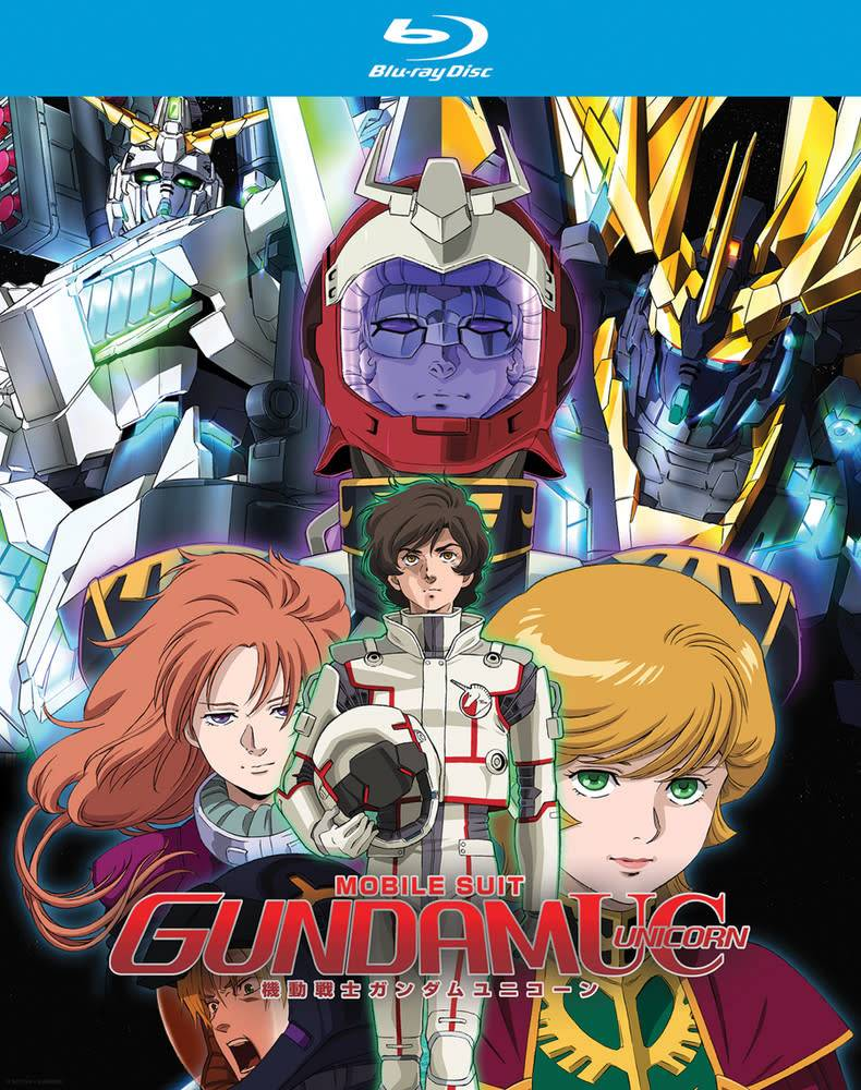 Nozomi Ent/Lucky Penny Gundam UC (Unicorn) Blu-Ray Collection