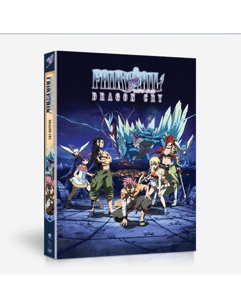 Funimation Entertainment Fairy Tail Dragon Cry Blu-Ray/DVD