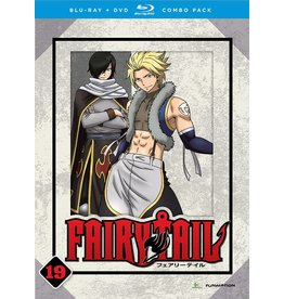 Funimation Entertainment Fairy Tail Part 19 Blu-Ray/DVD*