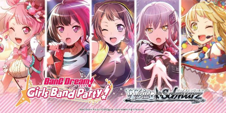 Bushiroad BanG Dream! Girls Band Party! (Full Booster Box) Weiss Schwarz