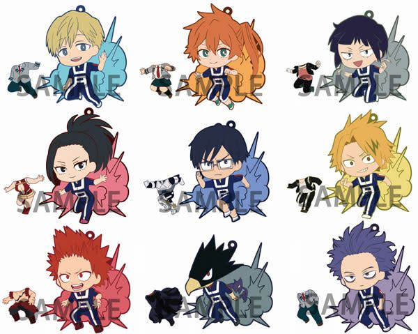 My Hero Academia Kisekae Niitengomu! Charms Toyworks