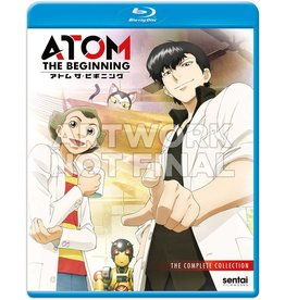 Sentai Filmworks ATOM the Beginning Blu-Ray