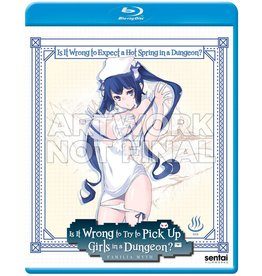 Sentai Filmworks Is It Wrong To Expect A Hot Spring In A Dungeon?! Blu-Ray