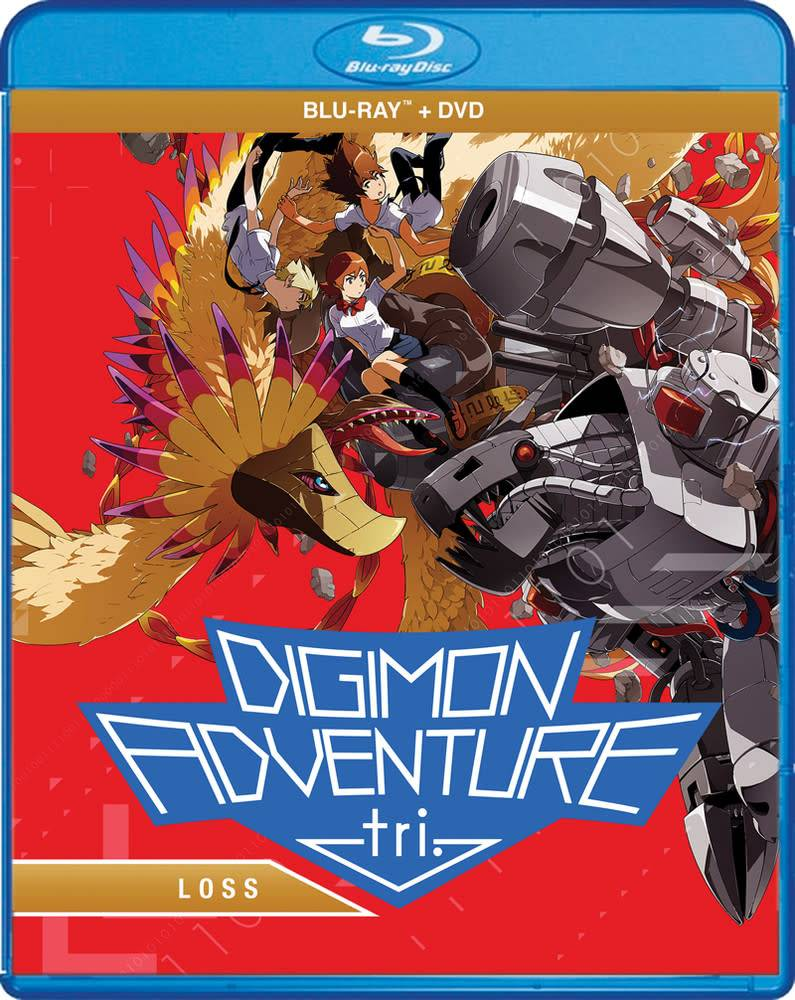 Digimon Adventure tri Loss Blu-Ray/DVD