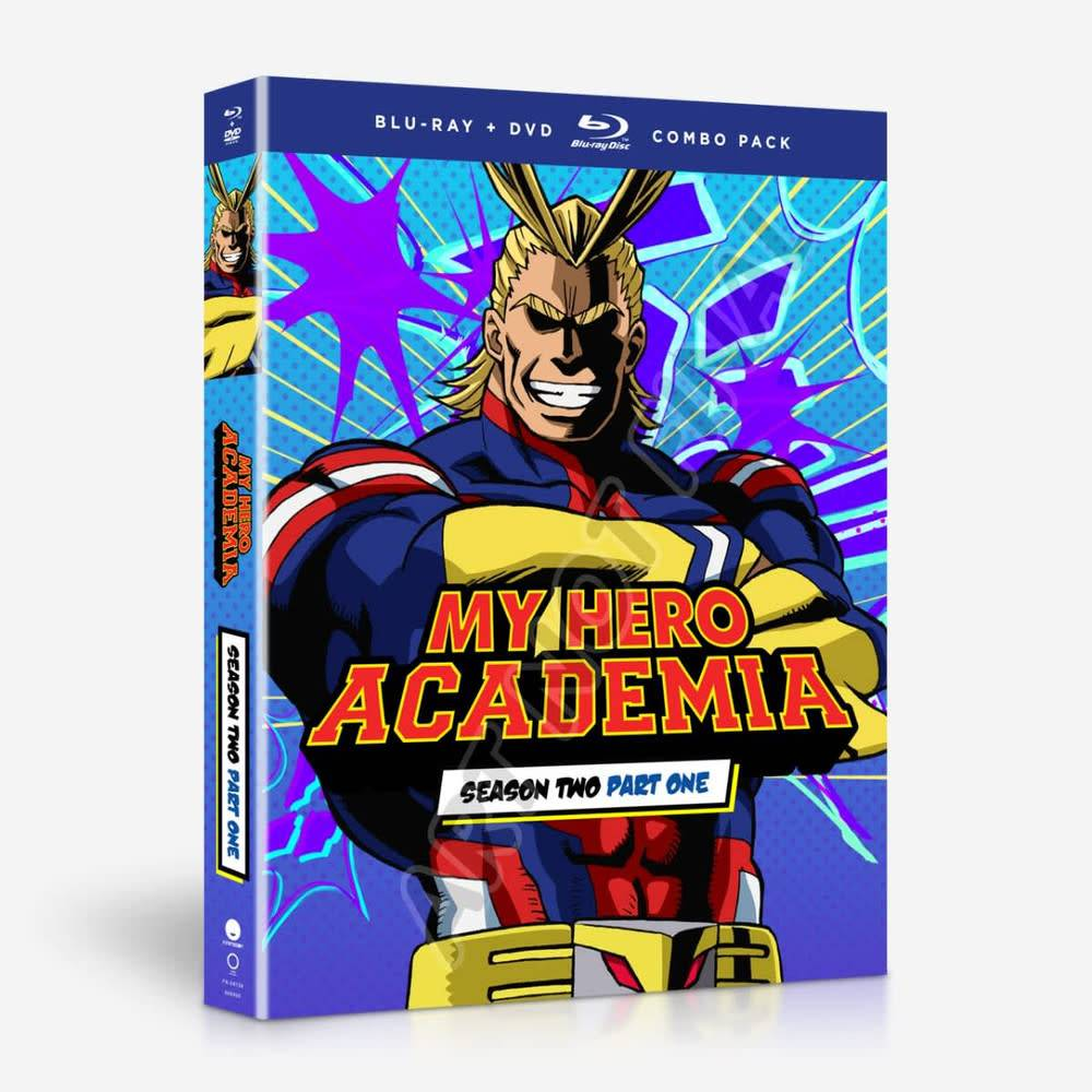 Funimation Entertainment My Hero Academia Season 2 Part 1 Blu-Ray/DVD