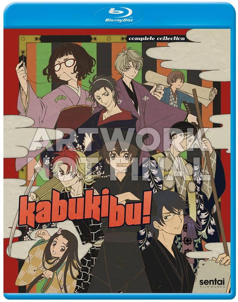 Sentai Filmworks Kabukibu! Blu-Ray