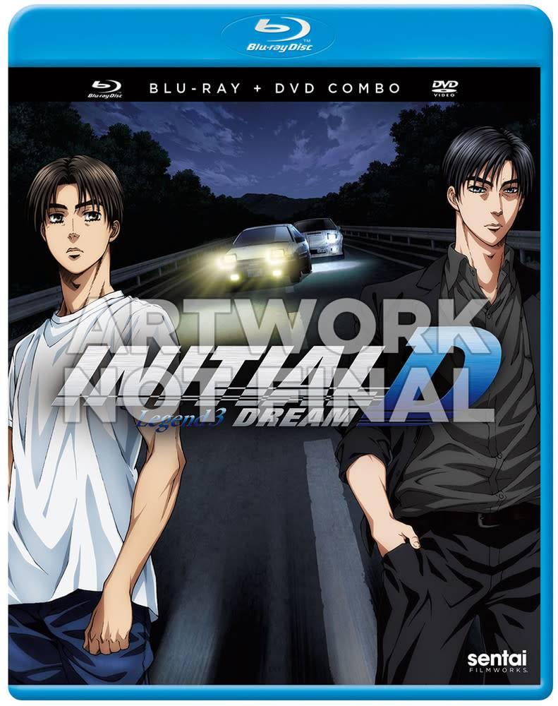 Sentai Filmworks Initial D Legend 3 Dream Blu-Ray/DVD