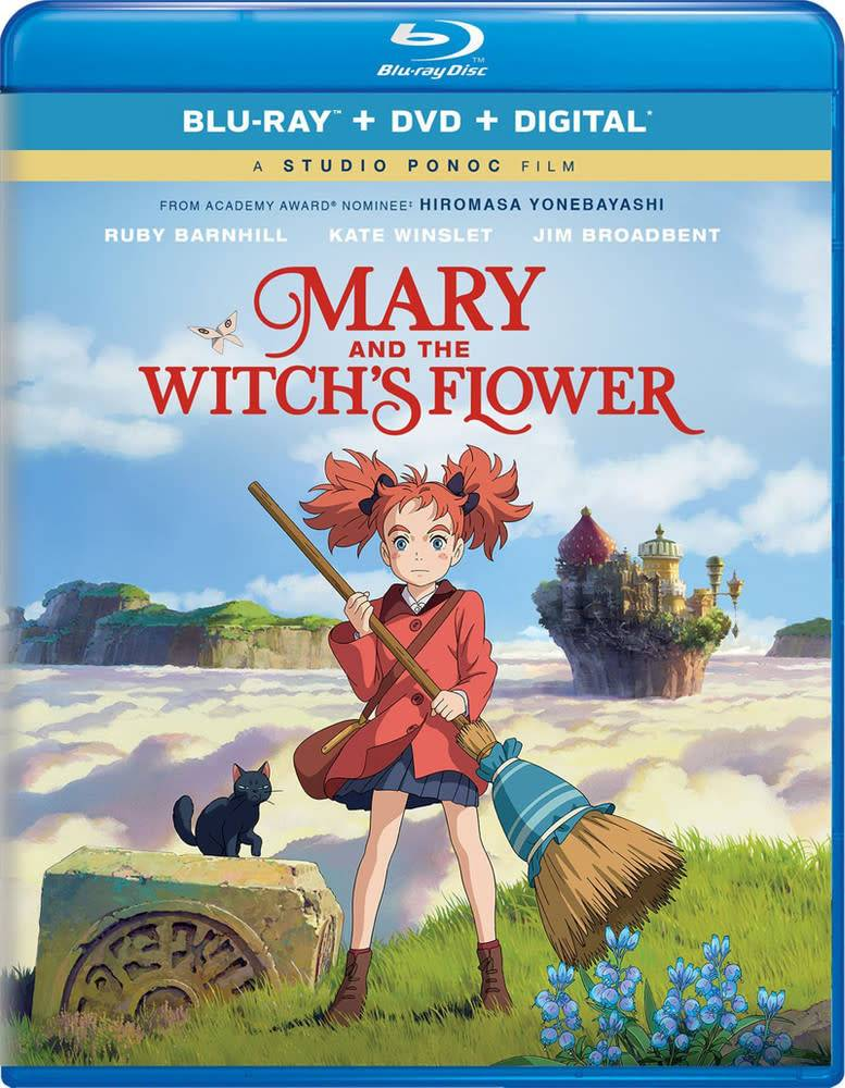 Studio Ghibli/GKids Mary and the Witch's Flower Blu-Ray/DVD + Digital