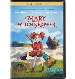 Studio Ghibli/GKids Mary and the Witch's Flower DVD