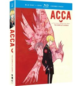 Funimation Entertainment ACCA 13 Territory Inspection Blu-Ray/DVD