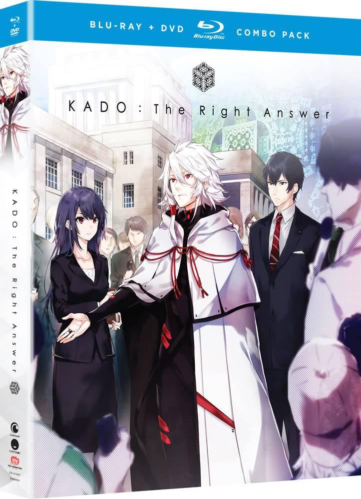 Funimation Entertainment KADO the Right Answer Blu-Ray/DVD