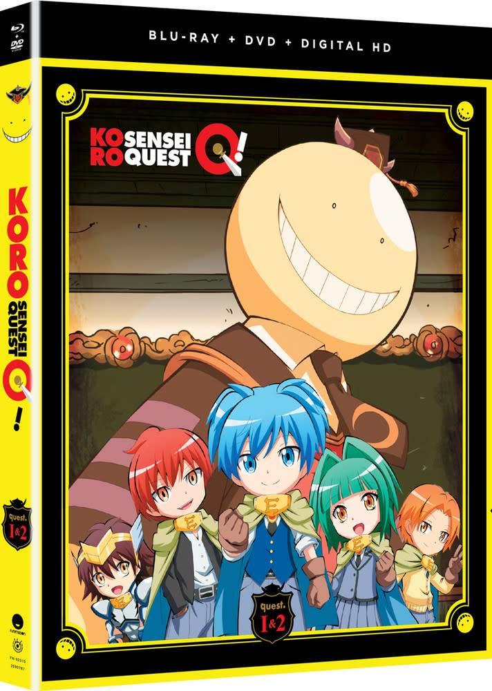 Funimation Entertainment Koro Sensei Quest! Blu-Ray/DVD