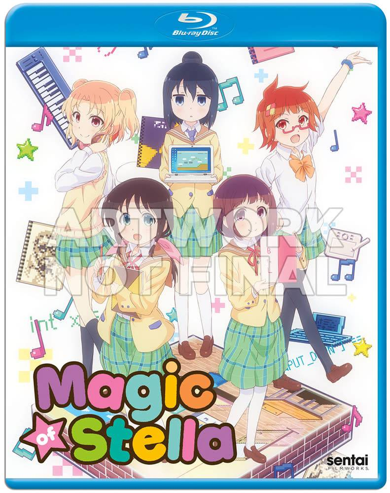 Sentai Filmworks Magic of Stella Blu-Ray