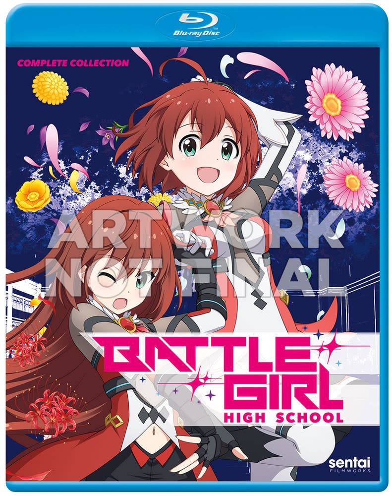Sentai Filmworks Battle Girl High School Blu-Ray