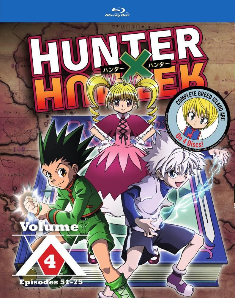 Viz Media Hunter x Hunter Vol. 4 Blu-Ray