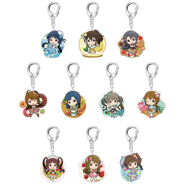 Idolm@ster Million Live! Acrylic Pop Keychain Sweets