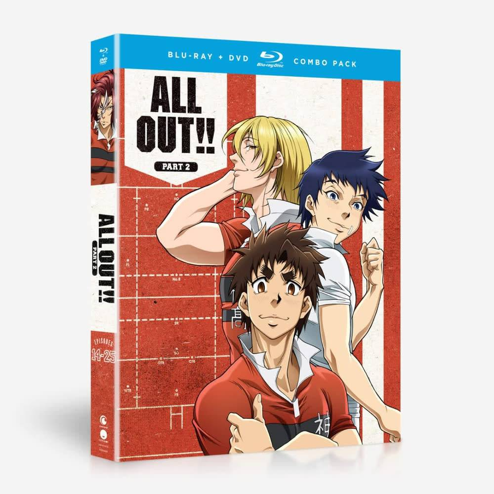 Funimation Entertainment All Out!! Part 2 Blu-Ray/DVD