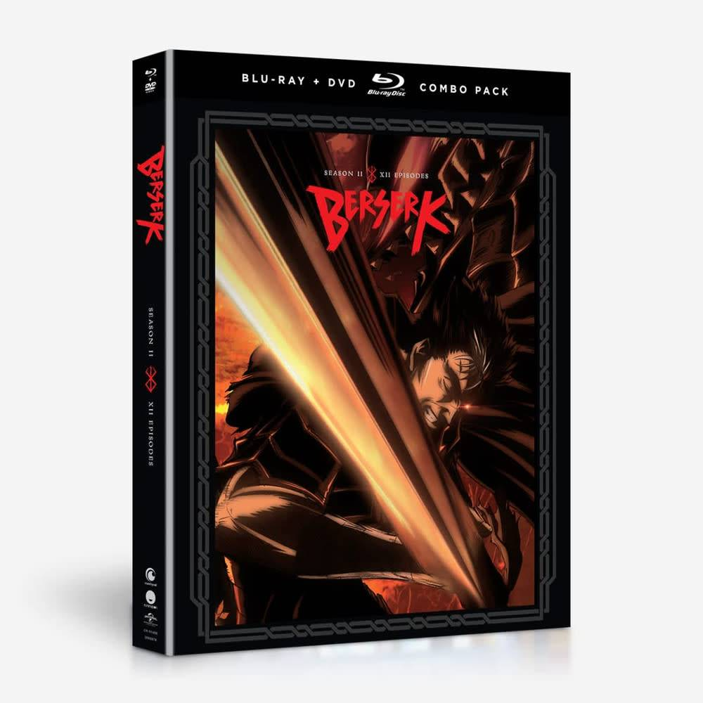 Funimation Entertainment Berserk (2016) Season 2 Blu-Ray/DVD