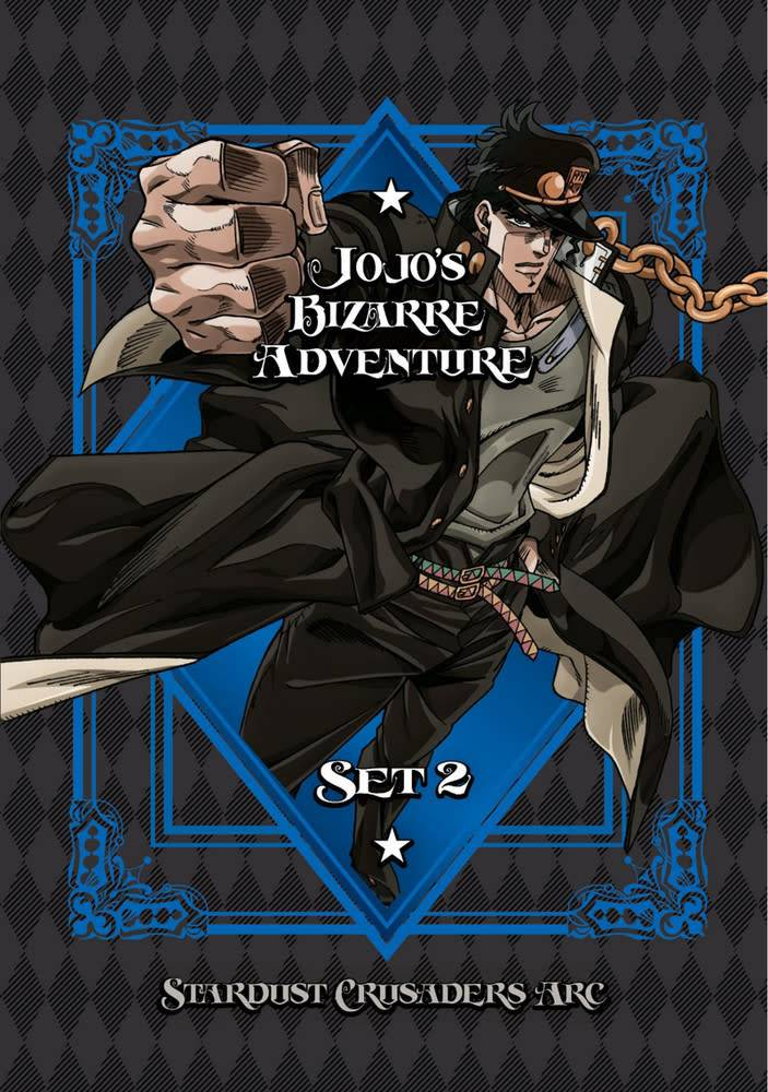 Viz Media Jojo's Bizarre Adventure Season 2 DVD