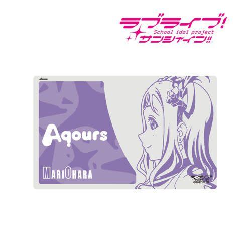 Aqours IC Card Sticker a.b.