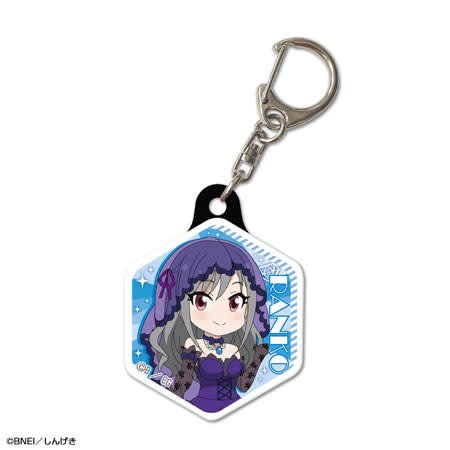 Idolm@ster CG Gekijou Pukutto Keychain Group A