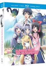 Funimation Entertainment In Another World With My Smartphone Blu-Ray/DVD