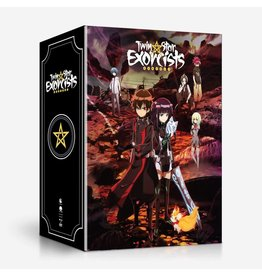 Funimation Entertainment Twin Star Exorcists Part 1 Collector's Box Blu-Ray/DVD