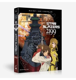 Funimation Entertainment Star Blazers Space Battleship Yamato 2199 Part 1 Blu-Ray/DVD