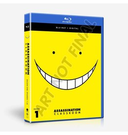 Funimation Entertainment Assassination Classroom Season 1 Blu-Ray