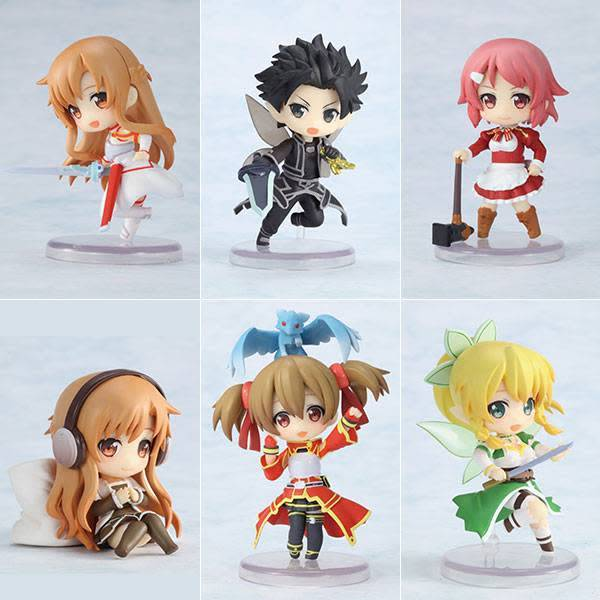 Sword Art Online Niitengo DX Figurines