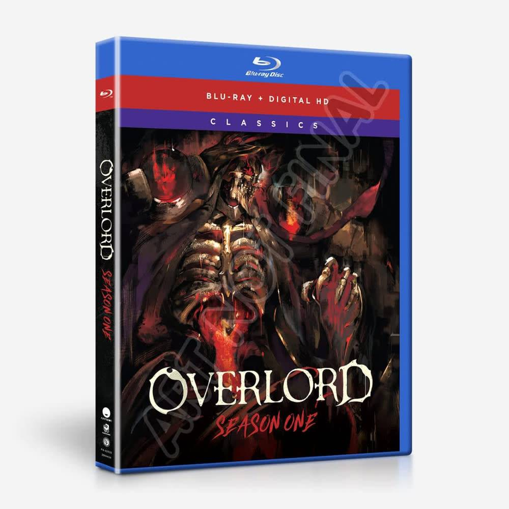 Funimation Entertainment Overlord Season 1 Classics Blu-Ray