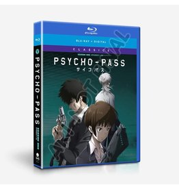 Funimation Entertainment Psycho Pass Season 1 Classics Blu-Ray