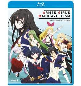 Sentai Filmworks Armed Girl's Machiavellism Blu-Ray