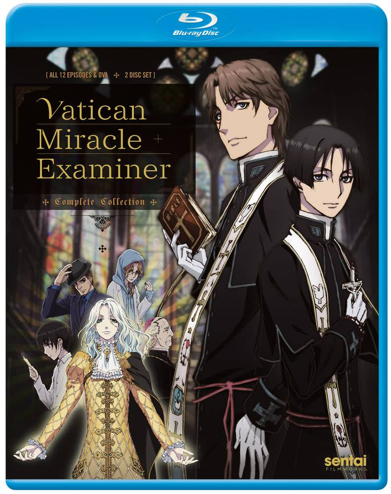 Sentai Filmworks Vatican Miracle Examiner Blu-Ray