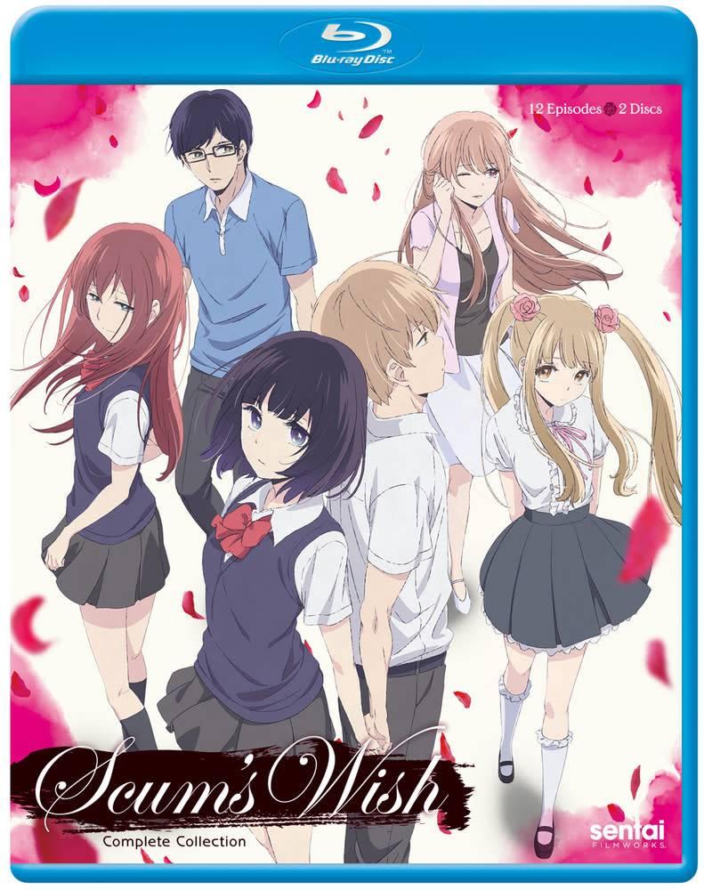 Sentai Filmworks Scum's Wish Blu-Ray