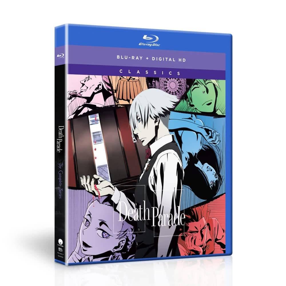 Funimation Entertainment Death Parade Classics Blu-Ray