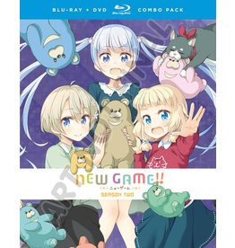 Funimation Entertainment New Game!! Season 2 Blu-Ray/DVD